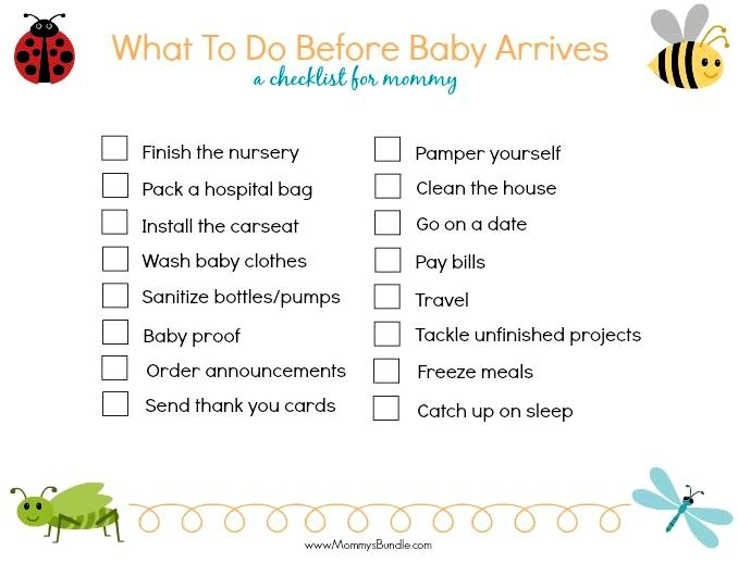 15 Things you can do before baby arrives — the systems mama all works