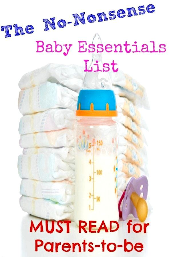 20 Baby essentials: no-nonsense new parent listing ll want this before you