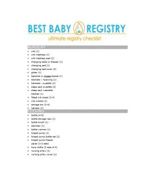 30+ Baby registry checklists (baby checklists) - template lab diaper bags, along