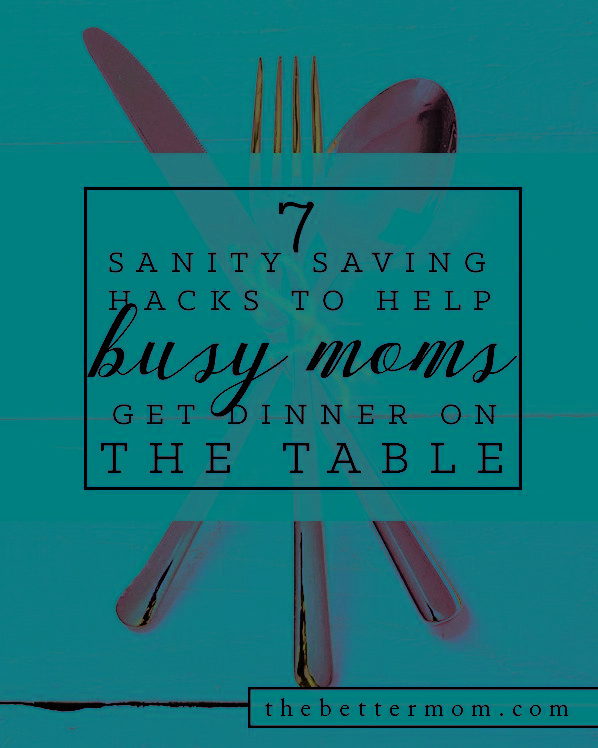 7 Sanity saving hacks to assist busy moms get dinner up for grabs — the greater mother stuck ordering pizza or