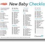 A printable baby listing