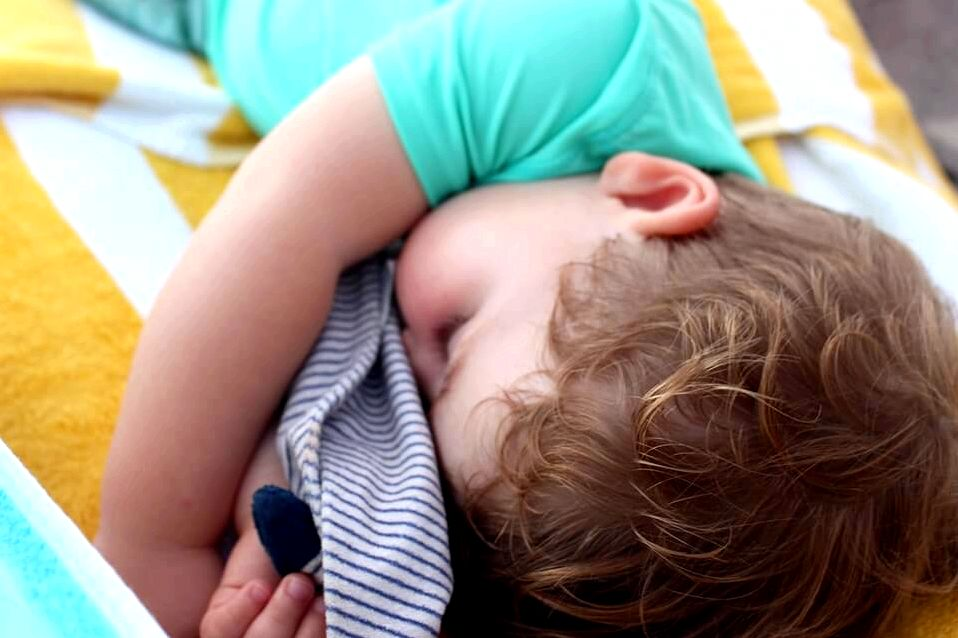 Advice for sleep-deprived new parents at the office short regression as he was