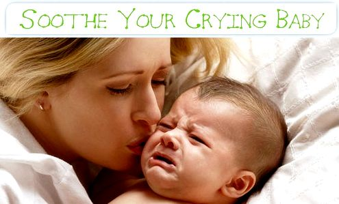Approaches to calm a crying baby Babies                 The very first
