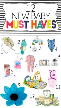 Baby products: must-haves for that newbie your baby