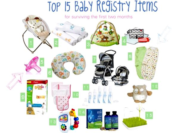 Baby registry We provide numerous