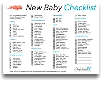 "Being prepared for baby: newborn basics you' title='Being prepared for baby: newborn basics you' /></div> <p>American Academy of Pediatrics: ""Instructor's Manual: Diaper Altering,"" ""Pacifiers.""</p> <p>HealthyChildren.org, ""Bathing Your Newborn,"" ""Nursing Supplies,"" ""Healthy Digital Media Use Habits for Babies, Toddlers, and Preschoolers.""</p> <div style='text-align:center;"