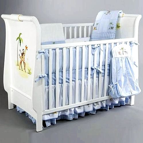 blue baby crib posh tots furniture detail image baby blue ruffle crib skirt