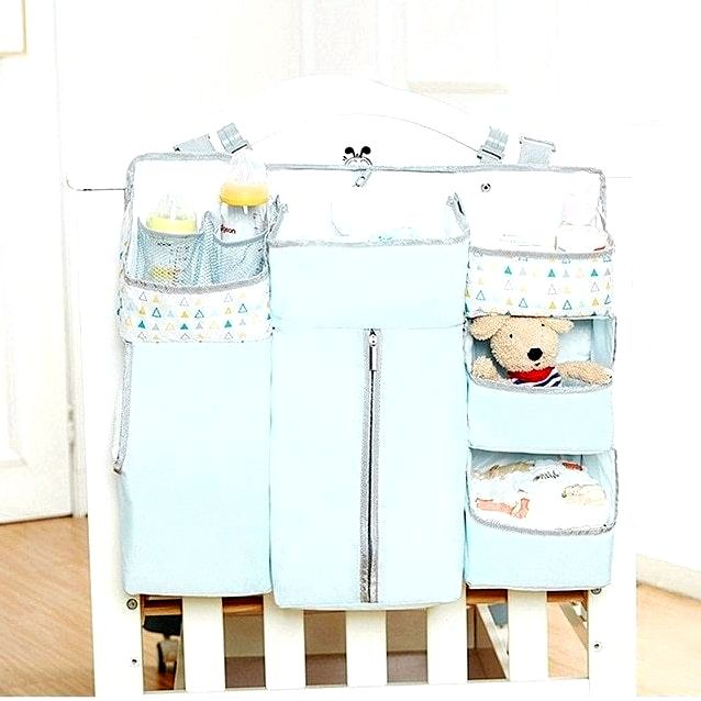 blue baby crib blue baby crib hanging organizer baby bed side storage bag newborn toy diaper bedding set accessories baby stuff blue baby crib sets