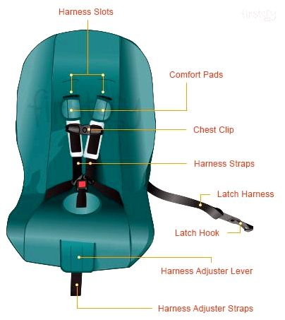 How to proceed whenever your baby cries within the vehicle want vehicle seat straps to