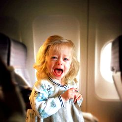 How you can stop an infant from crying on the plane in the New You are