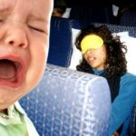 How you can stop an infant from crying on the plane