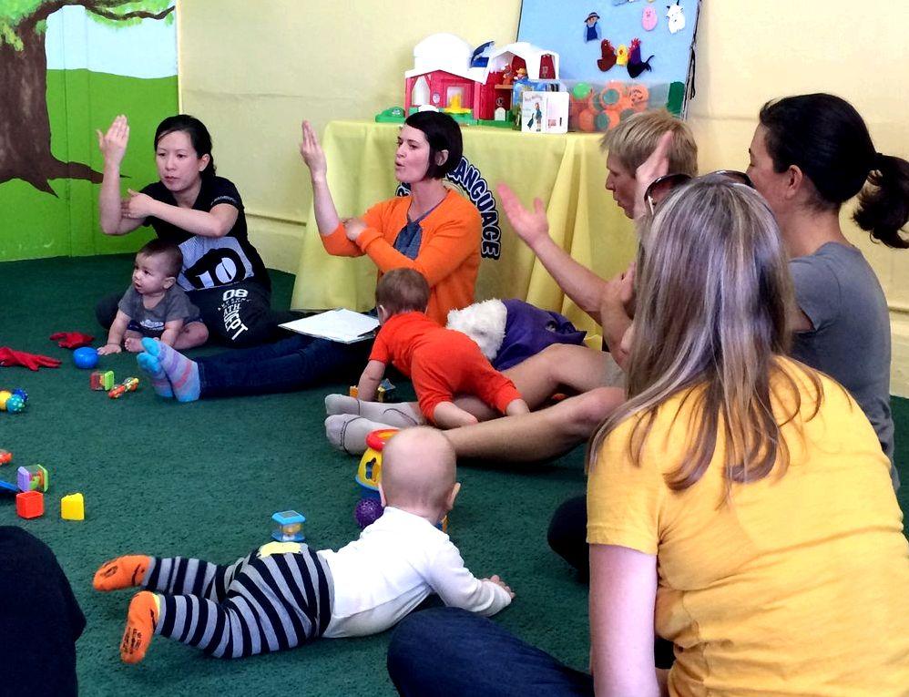 New parents — baby garten studio helps make the class fun