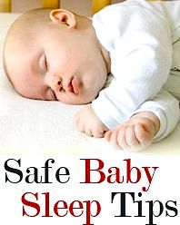 Newborn and baby safe sleep practices wants to consider