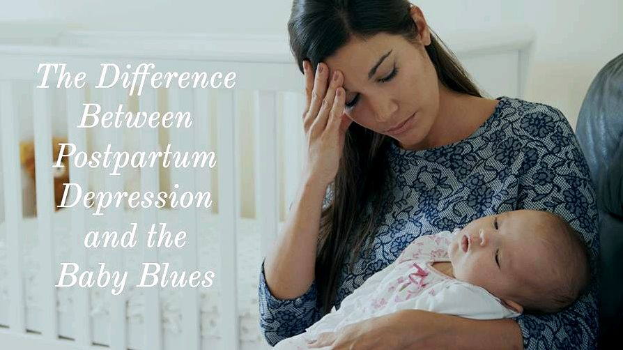 Newborn blues or postpartum depression? trouble concentrating and selection