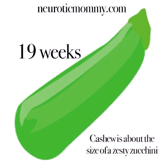 Pregnancy days 16-19 - neuroticmommy low and