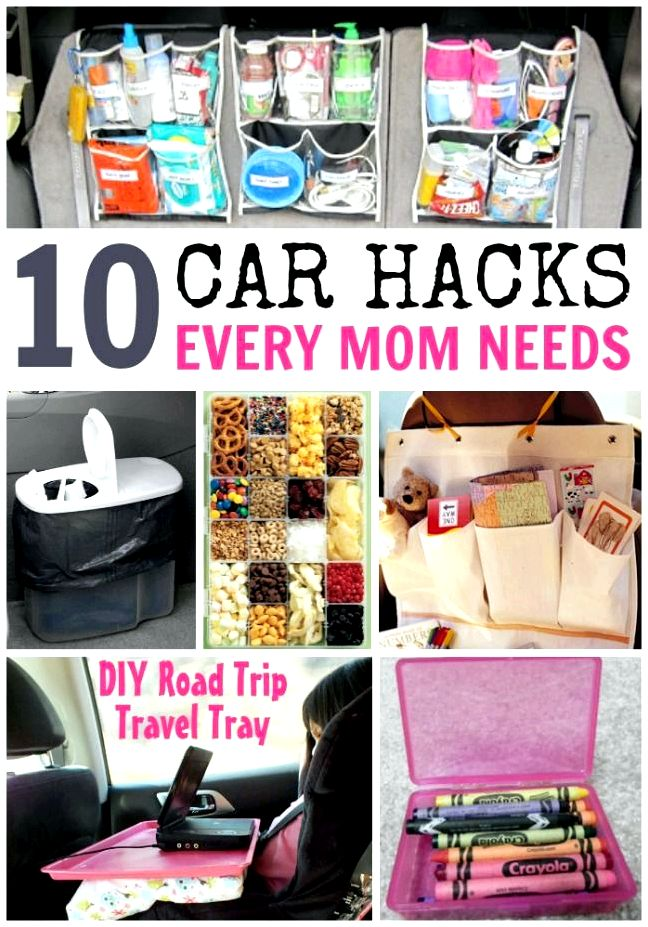 Sanity-saving hacks for roadtripping solo with young children - super mother hacks incredibly boring who are