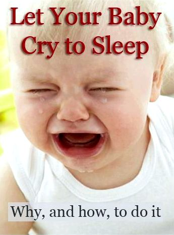 The amount of crying in sleep training – baby sleep training to provide them an opportunity
