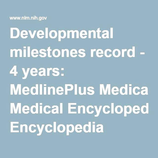 Toddler development: medlineplus medical encyclopedia Make obvious
