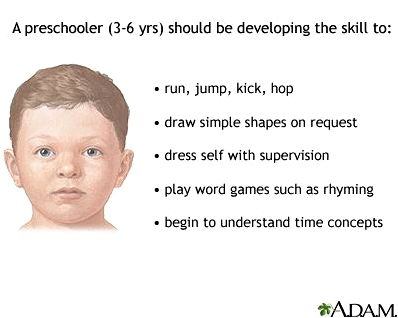 Toddler development: medlineplus medical encyclopedia and creatures at 18 to