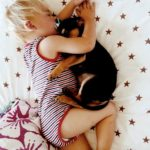 Toddler naps together with his 2-month-old puppy every single day [15 pictures]