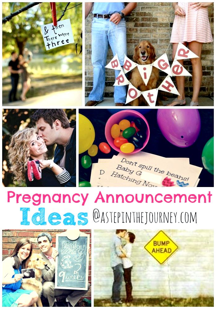 announcement ideas